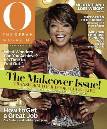 El cambio de look de Oprah