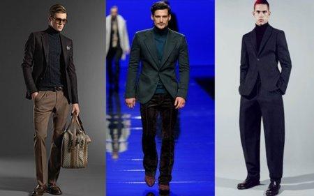 Moda para hombres: los jerséis, el frío, el verano y septiembre. ¿Algún loco en la sala?