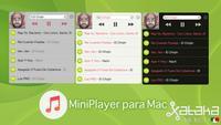MiniPlayer, un bonito reproductor de iTunes, Spotify o Rdio para Mac