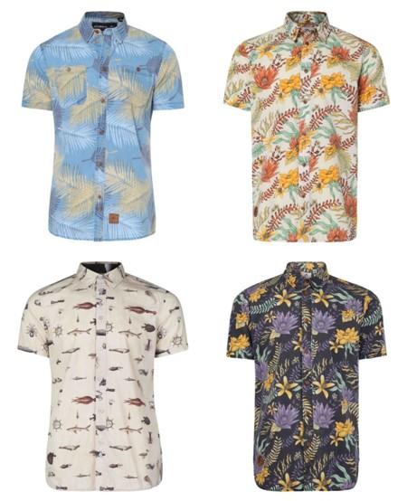 Camisas Hawianas