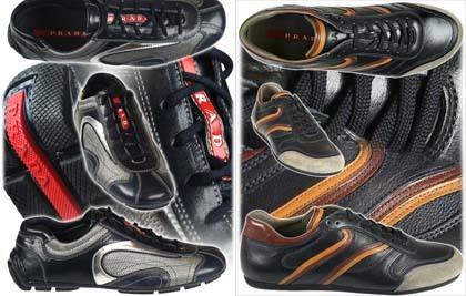 Nuevas zapatillas de Prada para hombre