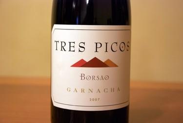 Tres Picos de Borsao 07. Calidad y precio en la misma botella