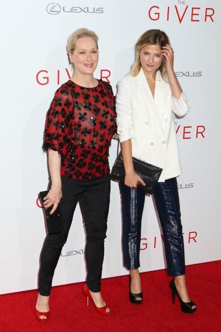 Meryl Streep blusa look