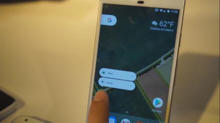 Así son los nuevos accesos directos desde los iconos a lo 3D Touch de Android 7.1 en los Google Pixel
