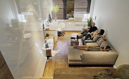 Casas que inspiran: un estudio muy aprovechado en el East Village