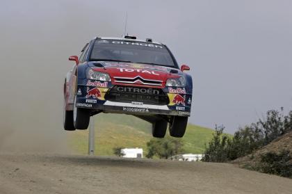Sébastien Loeb impone su ritmo y es el nuevo líder del Rally de Portugal