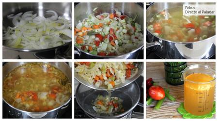 Caldo De Verduras Pakus Pasos