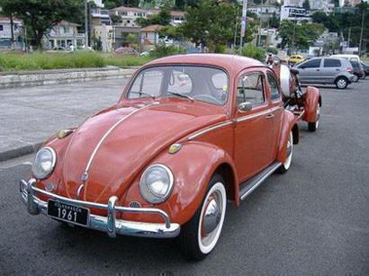 Lambretta Volkswagen Beetle remolque