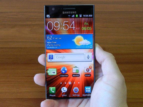 Samsung Galaxy B sin bordes