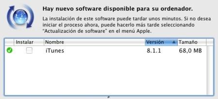 iTunes 8.1.1 ya disponible