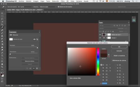 01 Creo Una Capa De Color Uniforme Y Escojo El Color Que Deseo Para El Bronceado