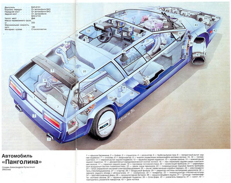 Pangolina GT cutaway