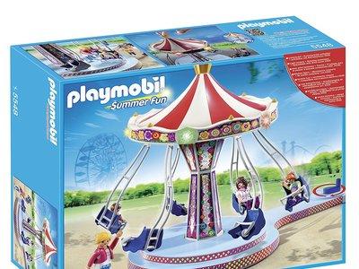 El carrusel con columpios voladores de Playmobil puede ser tuyo por 25,48 euros gracias a Amazon