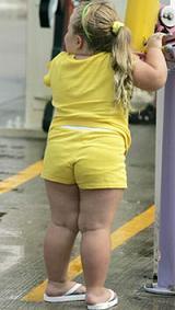 Los padres del Reino Unido con niños obesos recibirán información sobre los peligros que encierra la obesidad