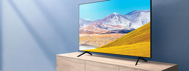 """Gran rebaja en el Samsung 50TU8005 de 50"""", un televisor de gama media con Apple TV+ a su precio mínimo en Amazon: 469,99 euros"""