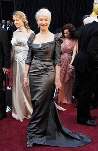 Helen Mirren zapatos Oscar 2011