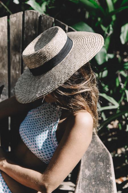 Ys Falls Jamaica Peony Swimwear Lack Of Colors Hat Straw Hat Swimwear Bikini Outfit 37