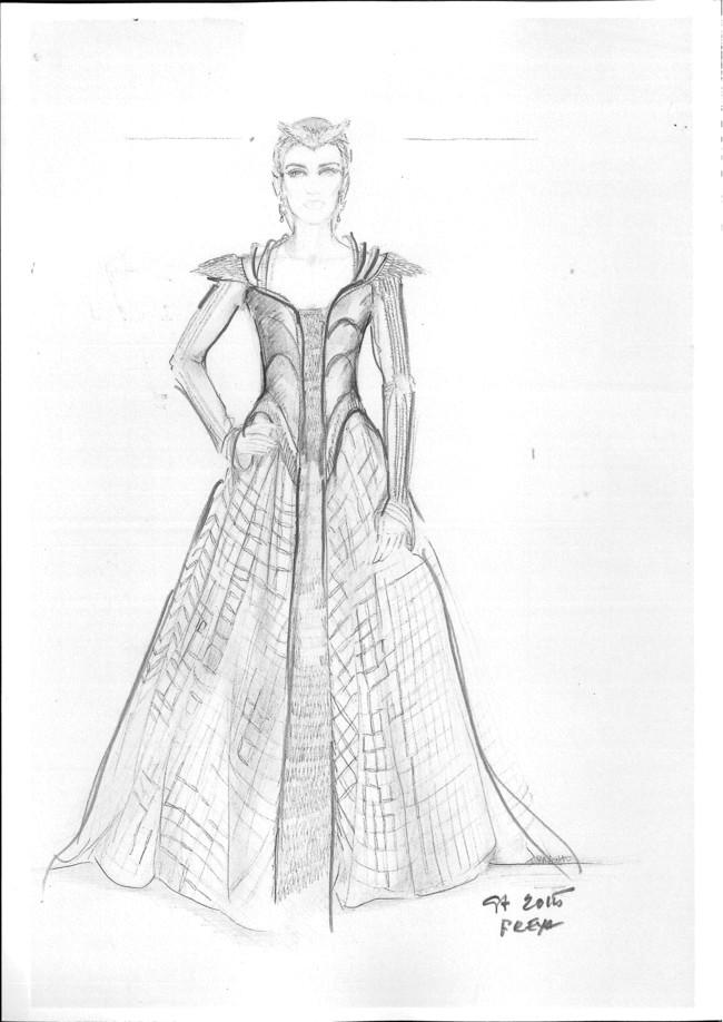 Blancanievesel Cazador Y La Reina Del Hielo Freya