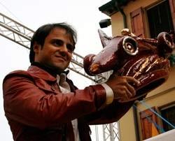 Felipe Massa recibe el Lorenzo Bandini