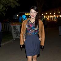 Pilar Rubio de cocktail