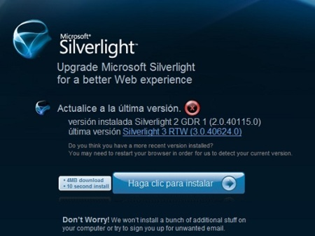 Silverlight 3.0 ya está disponible para descargar