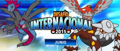 Gana Championship Points en el Pokémon International Challenge de junio