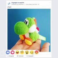 """Así luce el nuevo botón """"Me Gusta"""" de Facebook con múltiples reacciones"""