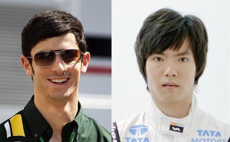 Alexander Rossi y Ma Qing Hua, pilotos reserva de Caterham