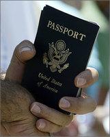 Los americanos de USA y el pasaporte