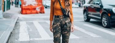 Te damos las cuatro claves de las influencers para lucir los pantalones de camuflaje de mujer