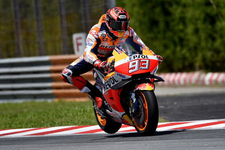 Marc Marquez Day 2 Sepang Test 3