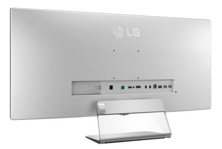 Distintos conectores del LG 34UM95