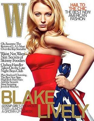 Blake Lively para W Magazine