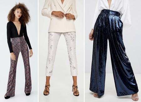 Pantalones Lentejuelas