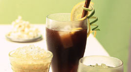 Granizado de café a la nata