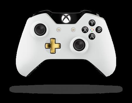 Mando Xbox One Edicion Blanco Lunar