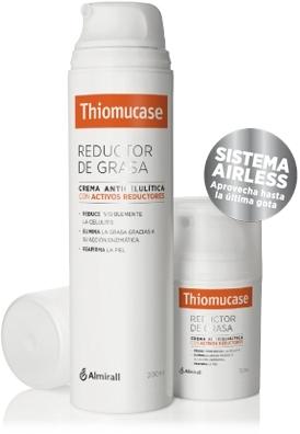 Thiomucase crema anticelulítica con activos reductores y ThioCamp su plan de 4 semanas