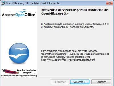 Apache OpenOffice alcanza los 40 millones de descargas