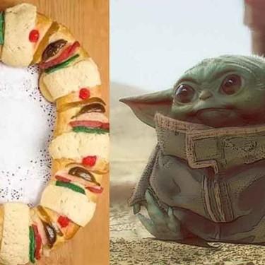 Ya puedes comprar la Rosca de Reyes inspirada en Star Wars en la que te saldrá un Bebé Yoda