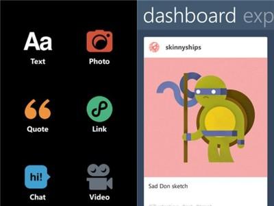 Tumblr para Windows Phone en su nueva aplicación oficial