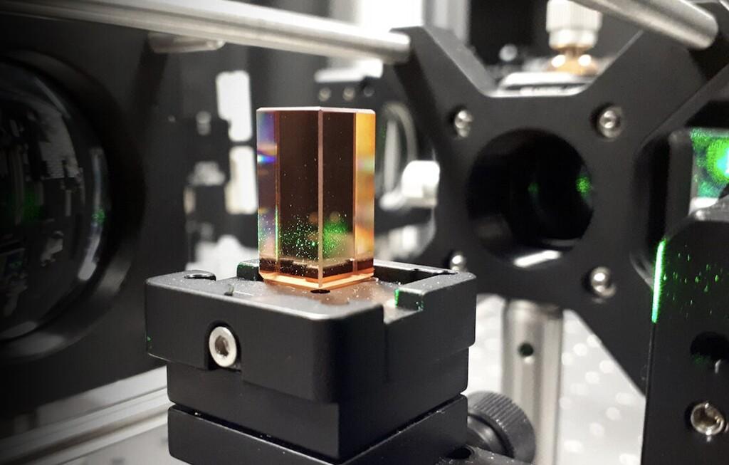 Microsoft experimenta con el 'almacenamiento holográfico': diferentes datos con sólo cambiar el ángulo de visión