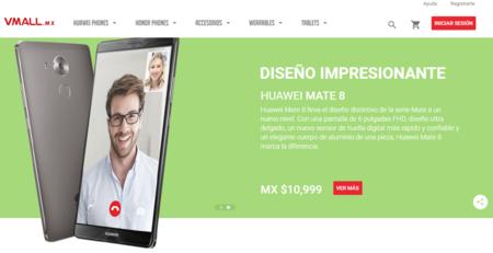 Vmall.mx la nueva tienda en línea de Huawei y Honor para México