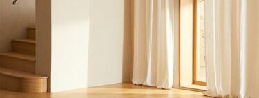 Las novedades de Zara Home más deseadas; las cortinas de lino, la mesa de cemento y la alfombra de yute blanca