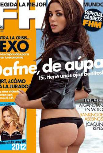 Dafne Fernández, muy provocativa, proclama soltería en FHM