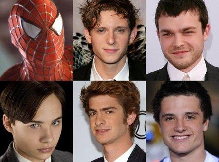 Los cinco candidatos para encarnar al nuevo Spider-Man son...