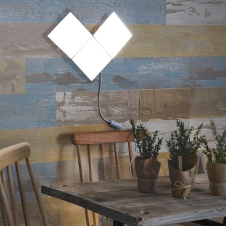 Paneles puzzle leroy merlin nos propone iluminar y decorar al tiempo - Cuanto se cobra en leroy merlin ...