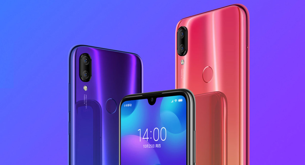 Xiaomi Mi Play, the first notch with a drop of Xiaomi comes with MediaTek P35 and dual rear camera