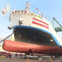 Japón ya tiene un barco que transporta hidrógeno líquido. Un paso clave para el futuro... Del coche