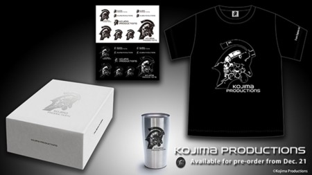 Ya hay merchandising de Kojima Productions en su tienda oficial