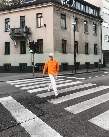 Alerta Naranja El Mejor Street Style De La Semana Se Pinta Del Mas Optimista Color De Otono 08